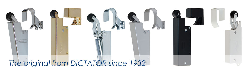 Door dampers - the original from DICTATOR since 1932